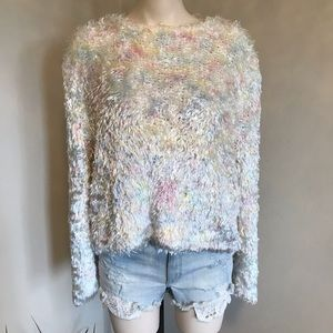 Rino Rossi Vintage Oversize Fuzzy Jumper Sweater Large